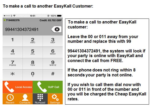 Apple easykall calls